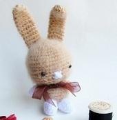 1500 Free Amigurumi Patterns: Amigurumi Sweet Bunny Pattern | Geeky Creations | Scoop.it