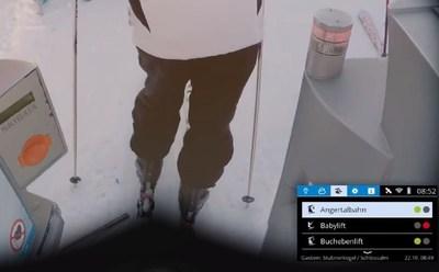 Le Wi-Fi dans la télécabine, l'état des pistes dans mes lunettes de ski