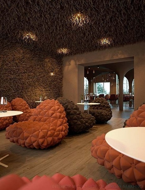 20 images of restaurant interiors from modern European style - Japanese style | Interior & Decor | Scoop.it