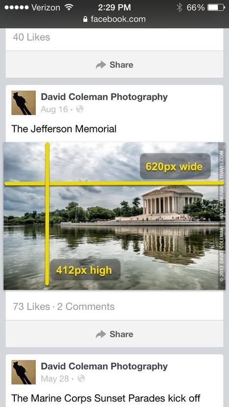 Facebook Photos Size Guide / 2014 - Updated for New Layout | Les techniques du e-marketeur | Scoop.it