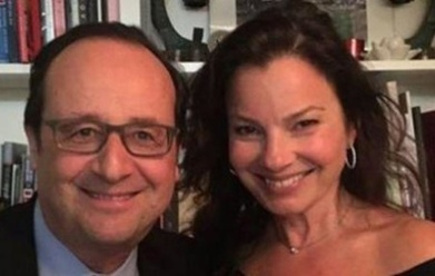 Buzz: Francois Hollande en photo avec Fran Drescher (la nounou d'enfer ) #6ter - Cotentin webradio actu buzz jeux video musique electro  webradio en live ! | cotentin webradio Buzz,peoples,news ! | Scoop.it