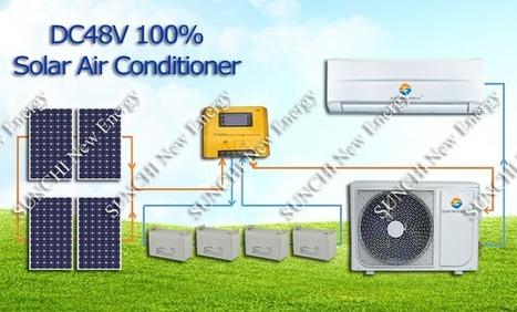 Solar AC Unit, Solar Powered Air Conditioning S