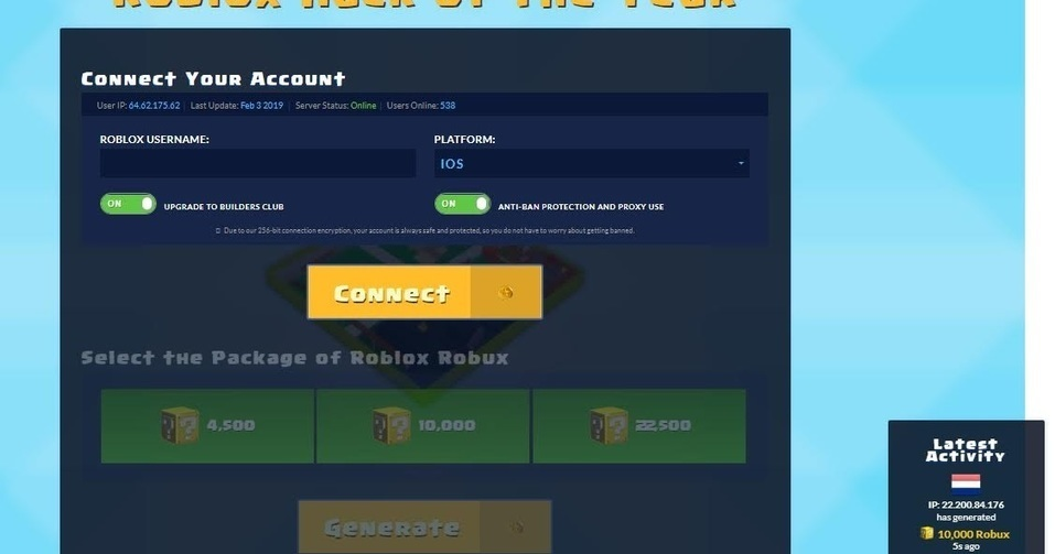 Roblox CPA Marketing Primium Landing Page Free