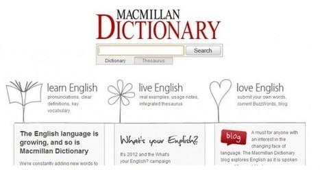 Macmillan, otro diccionario que abandona su versión de papel para concentrarse en la web | InEdu | Scoop.it