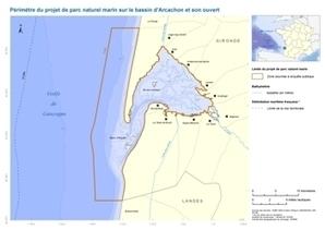 Projet de parc naturel marin sur le bassin d'Arcachon et son ouvert : enquête publique du 26 décembre 2011 au 2 février 2012 | Communiqués | Bassin d'Arcachon | Scoop.it