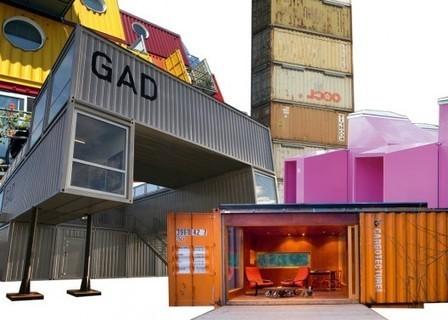 Le conteneur, nouvelle icône de l'architecture contemporaine | Architecture pour tous | Scoop.it