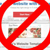 Why not to use Website Templates