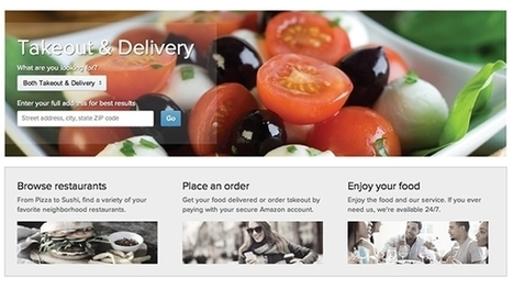 Amazon tests restaurant delivery service | Food News | Scoop.it