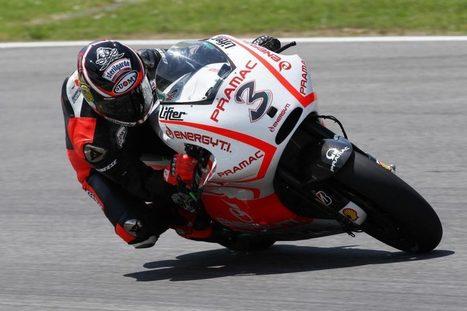MotoGP: Ducati Test Cut Short by Rain, Biaggi Posts 1'52.1 | Ductalk Ducati News | Scoop.it