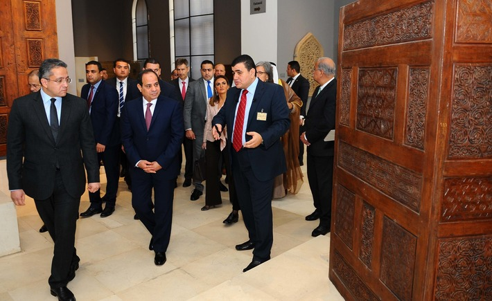 Al-Sisi inaugurates Museum of Islamic Art after renovation  | Daily News Egypt | Kiosque du monde : Afrique | Scoop.it