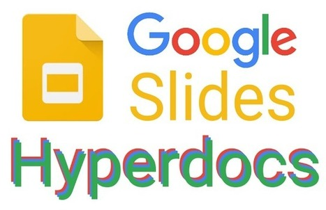 Hyperdoc Slides | computer tools | Scoop.it