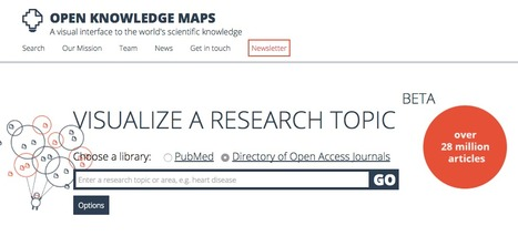 Open Knowledge Maps - A visual interface to the world's scientific knowledge | Pedagogia Infomacional | Scoop.it
