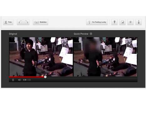 YouTube ajoute une option pour flouter les visages | CommunityManagementActus | Scoop.it