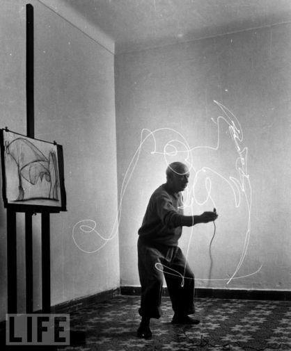 Picasso – light graffiti | GRAFFART | Reflejos | Scoop.it
