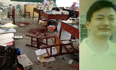 Classroom horror as Chinese pupil kills teacher for confiscating his m | News round the Globe especially unacceptable behaviour | Scoop.it