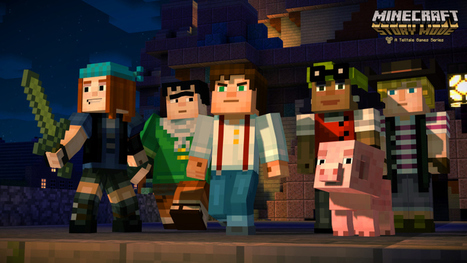 [Minecon 2015] Minecraft Story Mode : la première bande-annonce - Geeks and Com' | And Geek for All | Scoop.it