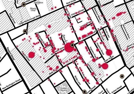 John Snow's cholera map of London recreated | GTAV AC:G Y10 - Geographies of human wellbeing | Scoop.it