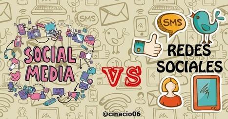 Social Media vs Redes Sociales - Definiciones y diferencias | Mundo Marquetero Digital | Scoop.it