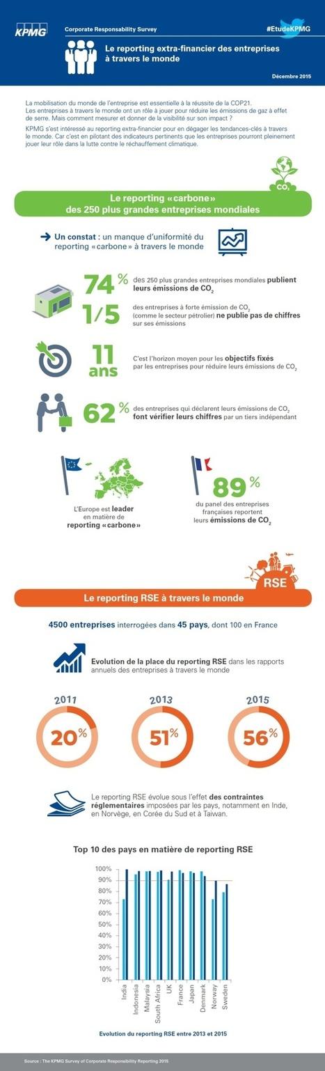COP21 : Le reporting extra-financier des entreprises dans le monde | RSE, professionnels et entreprises responsables : actus et solutions | Scoop.it
