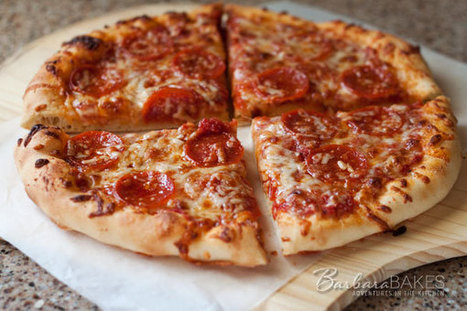 All-American Pizza and Homemade Pizza Sauce Recipe | Barbara ... | Food123 | Scoop.it