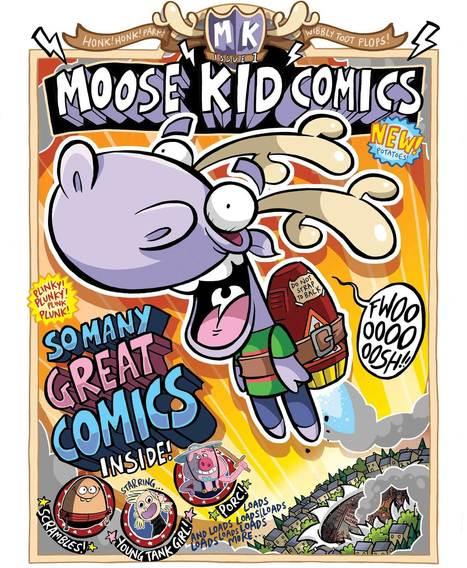 Moose Kid Comics | Supporting Children's Literacy | Scoop.it