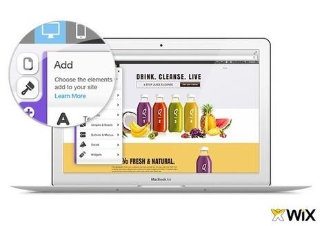 Wix introduces platform for mobile website development | Web Literacy | Scoop.it