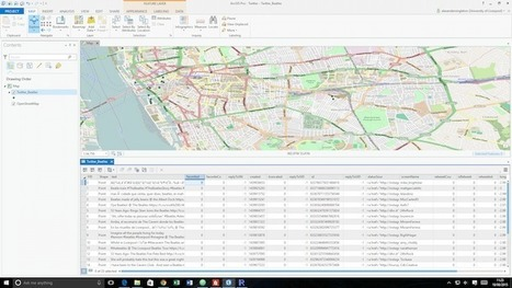 Searching Twitter with ArcGIS Pro Using R · Alex Singleton | Geospatial Pro - GIS | Scoop.it