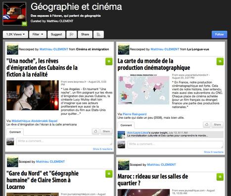 Journal Scoop.it : Géographie et cinéma | Géographie : les dernières nouvelles de la toile. | Scoop.it