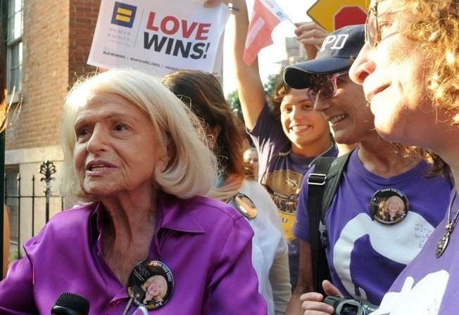 How Edie Windsor Championed Gay Rights: 'She Was Everywhere'