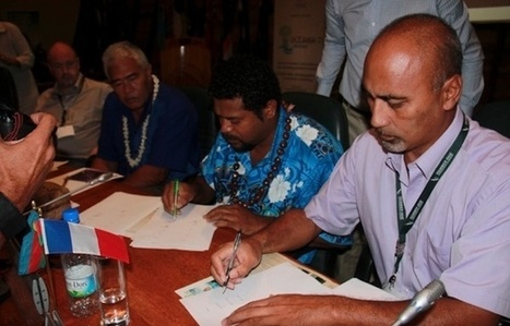 """Help us saving Tokelau"", title of the final declaration of Oceania 21 Meetings   Communications4Development   Scoop.it"