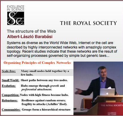 Networks explained by Barabåsi ~ Stephen's Web | Educación flexible y abierta | Scoop.it