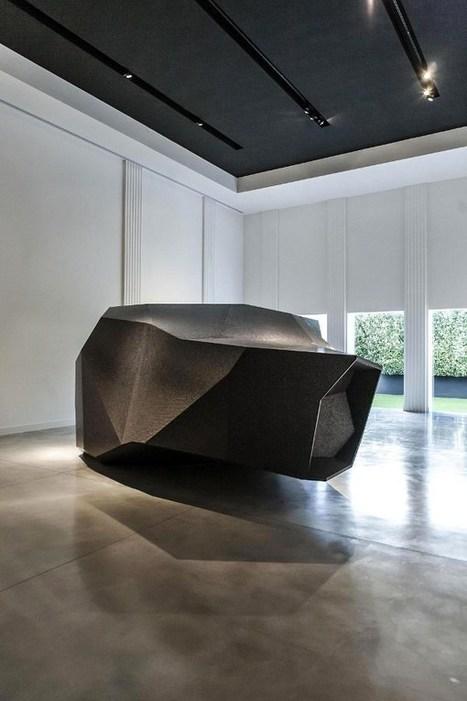 Espace futur la Rock Chamber par Arik Levy | Blog Esprit-Design : tendance Design / Deco | What Surrounds You | Scoop.it