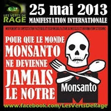 Stoppons-les ! Manif mondiale contre Monsanto ce samedi 25. | Bio alimentation | Scoop.it