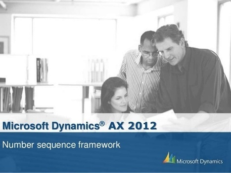 Tutorial - Number Sequence Framework in AX 2012