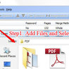Merge PDF files into one, merging files to PDF with A-PDF Merger
