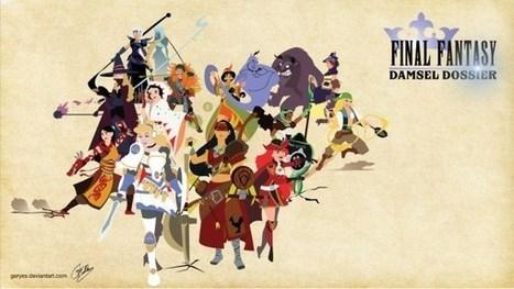 Disney Princesses as Final Fantasy | All Geeks | Scoop.it