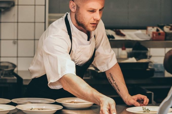 Food Waste in Large Kitchens: Ensuring Sustainable Consumption and Production