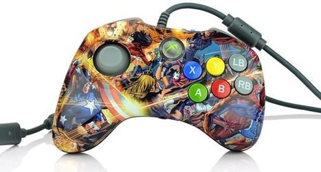 Marvel Versus Fighting Pad features micro-switch thumb pad, art direction courtesy of a 12 year old boy   All Geeks   Scoop.it