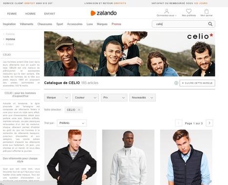 Zalando va s'appuyer sur les stocks de magasins de proximité.   Métiers, emplois et formations dans la filière cuir   Scoop.it