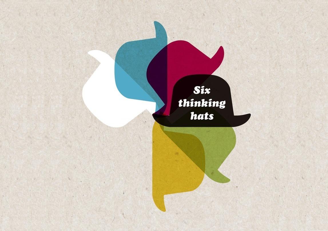 de bono thinking systems six thinking hats - HD1350×953