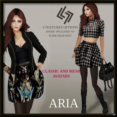 ARIA Outfit Group Gift by LEGENDAIRE | Teleport Hub - Second Life Freebies | Second Life Freebies | Scoop.it