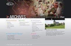 Le site web des archives départementales du Cher est en ligne - Conseil général du Cher | En remontant le temps | Scoop.it
