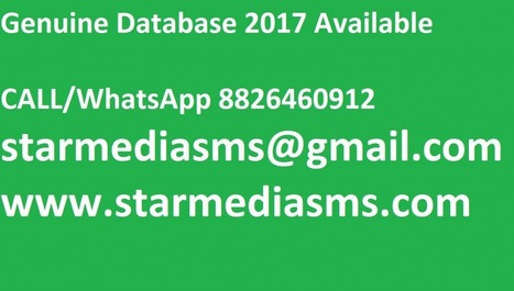 Mobile Number & Email Database Provider HNI