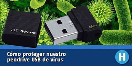 Cómo proteger un pendrive USB de los virus | Educacion, ecologia y TIC | Scoop.it