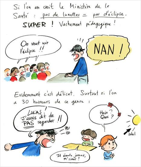 BD: petits conseils pour observer l'éclipse de vendredi avec des enfants - Rue89 | développement durable - périnatalité - éducation - partages | Scoop.it
