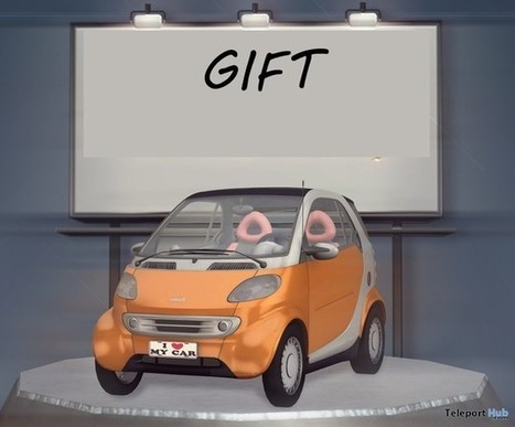 Smart Car Gift by Richard Kruspe | Teleport Hub - Second Life Freebies | Second Life Freebies | Scoop.it