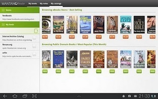 Mantano Reader Free - Applications sur l'AndroidMarket | Android Apps | Scoop.it