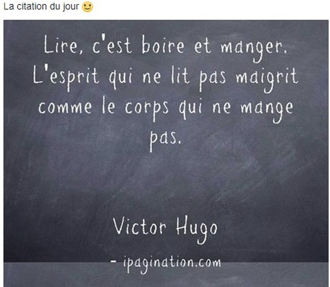 Citation Du Jour Victor Hugo Et Ose