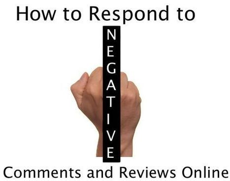 That Was Mean! Respond to Negative Comments and Reviews Online | LinkedIn communities | Scoop.it