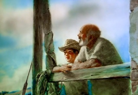 See a Beautifully Hand-Painted Animation of Ernest Hemingway's The Old Man and the Sea (1999) | Listening activities for English language learners | Scoop.it